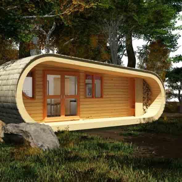 14 modelos de casas pr fabricadas pequenas e seus 6 benef cios. Black Bedroom Furniture Sets. Home Design Ideas