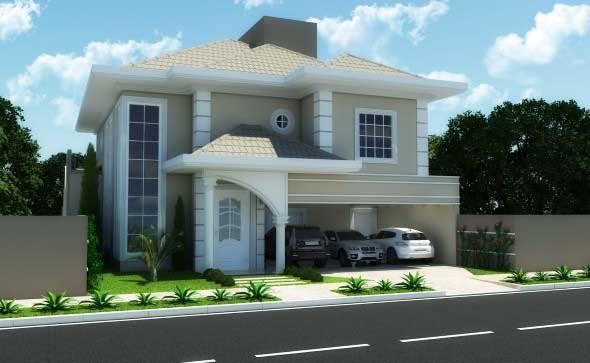 15 fachadas de casas cl ssicas com materiais modernos