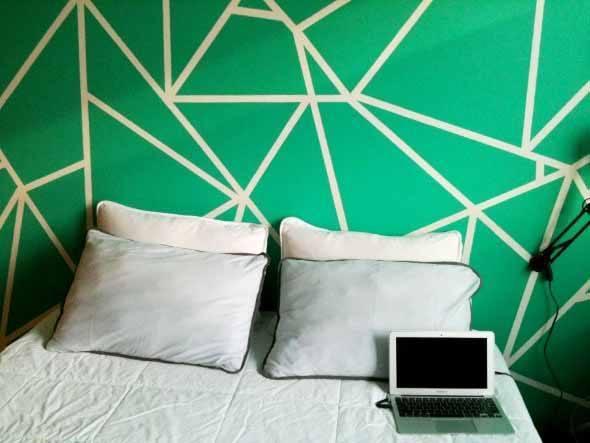 4 t cnicas criativas de pintura em paredes for Pintura metalizada para paredes