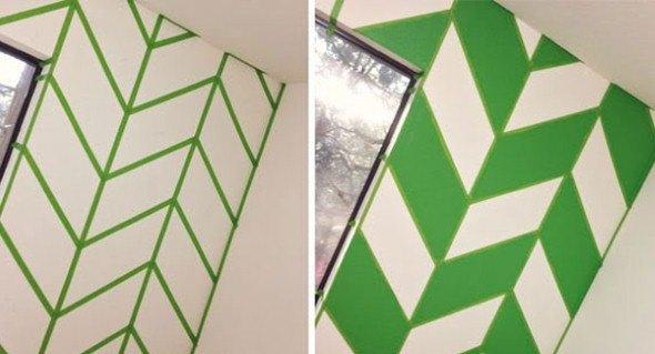 4 t cnicas criativas de pintura em paredes - Estilos de pintura para paredes ...