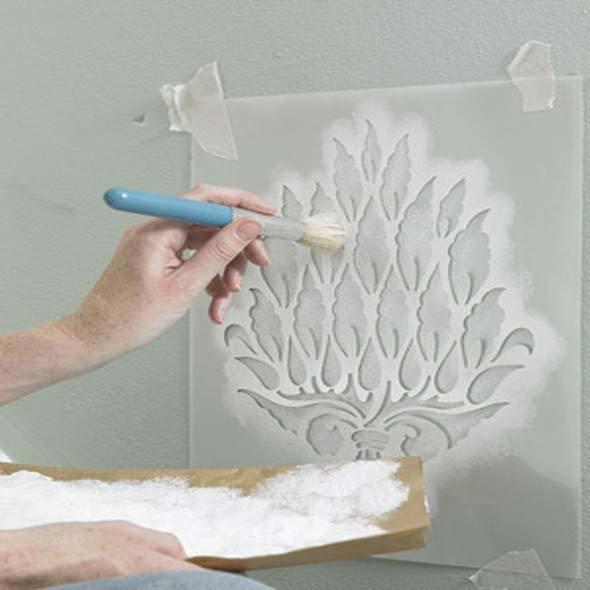4 t cnicas criativas de pintura em paredes - Pinturas para paredes ...