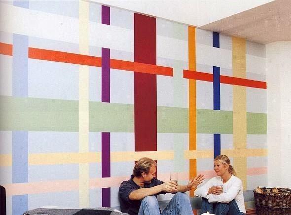 4 t cnicas criativas de pintura em paredes - Estilos de pintar paredes ...
