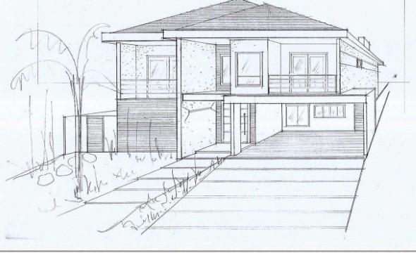 16 Modelos De Desenhos De Casas Para Construir E Como Faz 234 Los