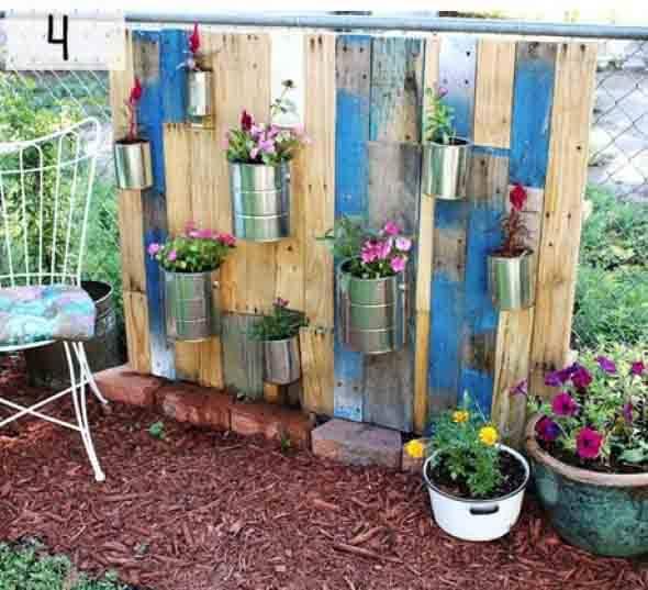 Imagens de ideias fáceis para fazer no quintal