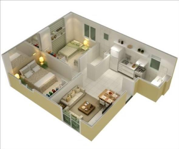 16 pequenos modelos de casas simples para construir for Modelo de casa x dentro