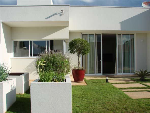 16 modelos de fachadas de casas sem telhados e 2 tipos for Modelos de fachadas de casas