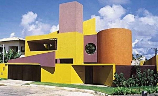 10-Cores para fachadas de casas