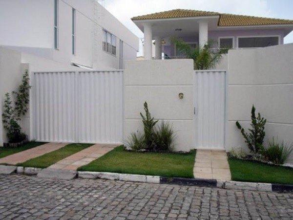 10-Modelos de portões de garagem
