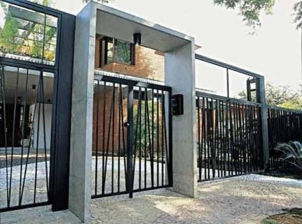 14-Modelos de portões de garagem