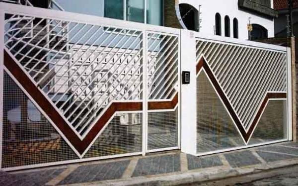 16-Modelos de portões de garagem