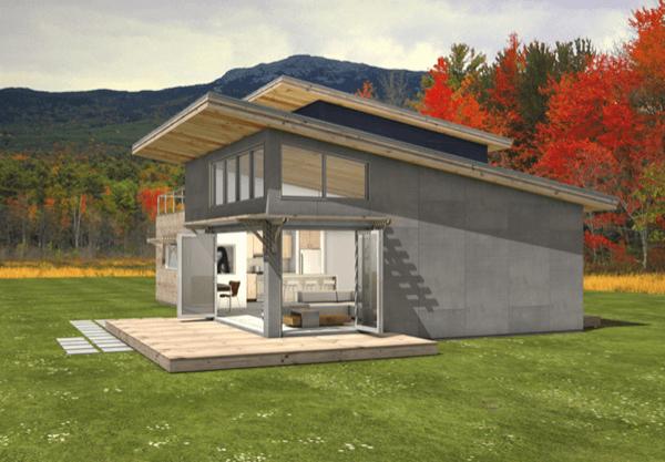 2-Casa sustentável moderna