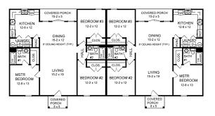 30-plantas de casas duplex modelos