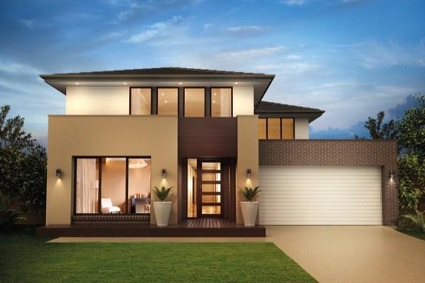 Cores para fachadas de casas 34 modelos inspiradores for Cores modernas para fachadas de casas 2016