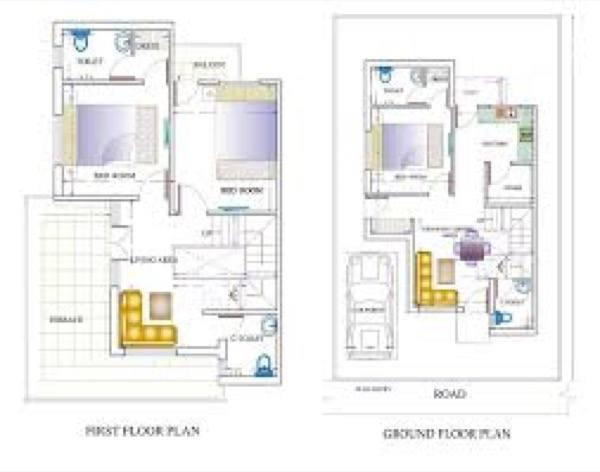 32-plantas de casas duplex modelos