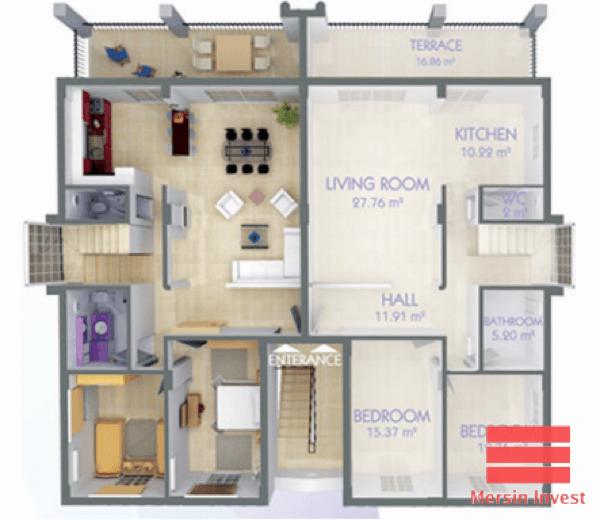 37-plantas de casas duplex modelos