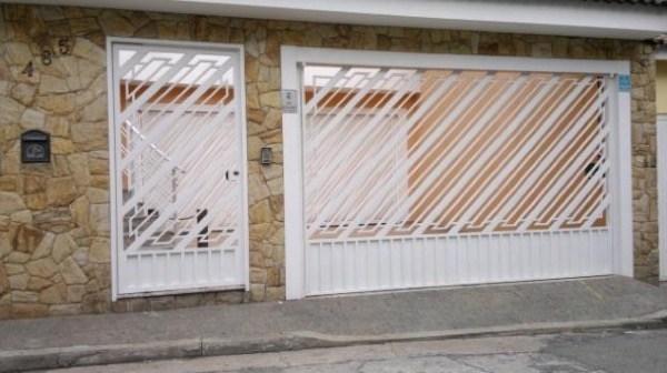 4-Modelos de portões de garagem