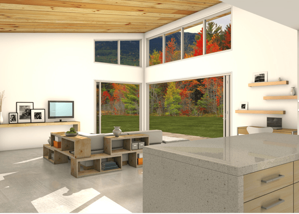 5-Casa sustentável moderna