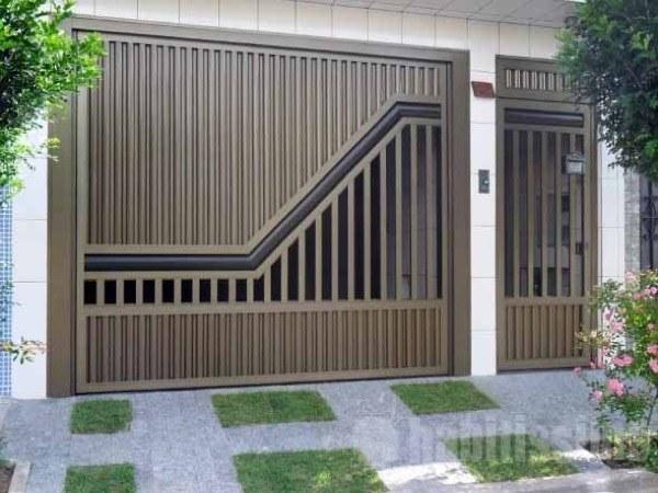 5-Modelos de portões de garagem