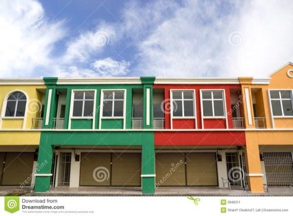 8-Cores para fachadas de casas