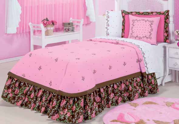 Combine charme e elegância para ter um quarto com visual encantador.