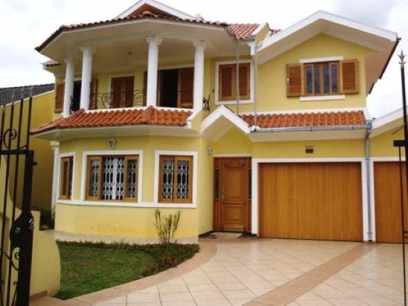 6 dicas para n o errar na cor externa fachada de sua casa for Colores para pintar frentes de casas