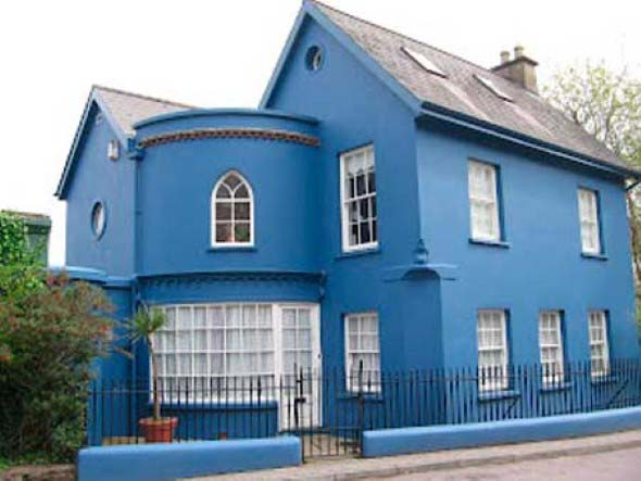 6 dicas para n o errar na cor externa fachada de sua casa for Frentes de casas pintadas