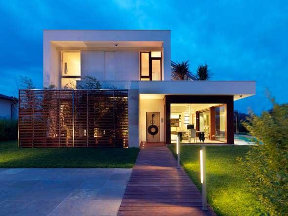 Fachadas de casas de luxo 003