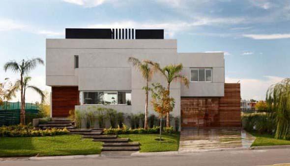 Fachadas de casas de luxo 004