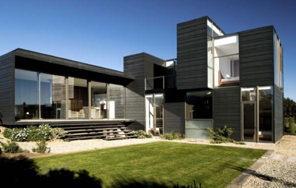Fachadas de casas de luxo 006