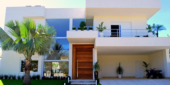 Fachadas de casas de luxo 008