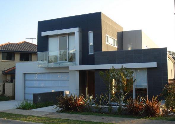 Fachadas de casas de luxo 011
