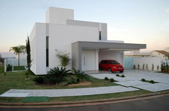 Fachadas de casas de luxo 014