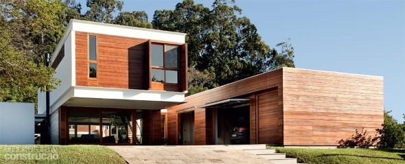 Fachadas de casas de luxo 016