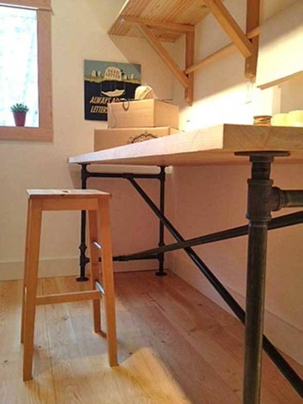 17 projetos feitos com canos de pvc e a o f ceis de fazer. Black Bedroom Furniture Sets. Home Design Ideas