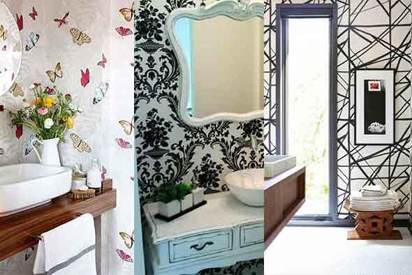 10 papéis de parede criativos para banheiro 011