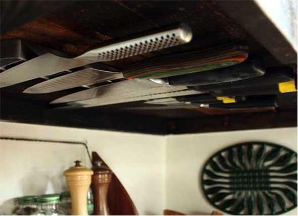 12 maneiras de guardar facas na cozinha 012