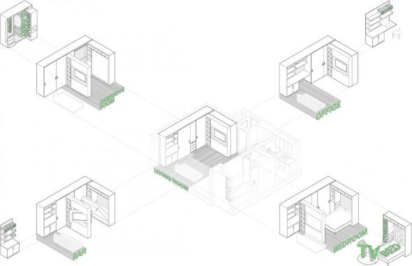 Apartamento maximizado em Nova York 019
