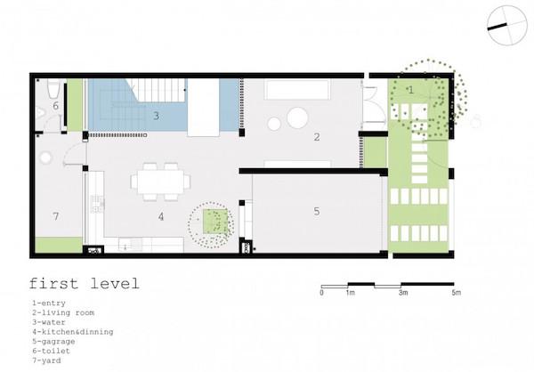 Casa minimalista una planta excellent casa minimalista en for Plantas casas minimalistas
