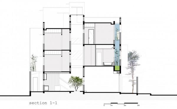BQ-17 Residence, casa minimalista17
