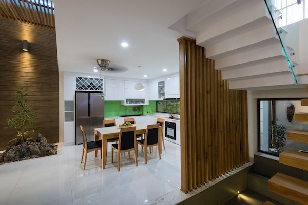 BQ-17 Residence, casa minimalista8