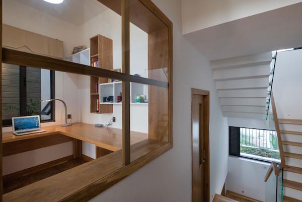 BQ-17 Residence, casa minimalista9