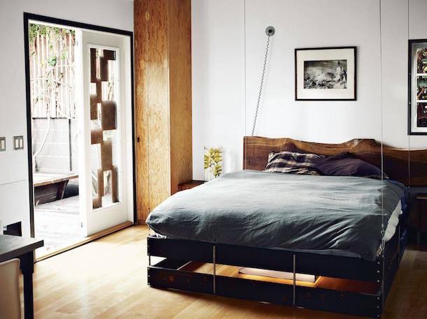 Cama retrátil ideal para interiores pequenos4