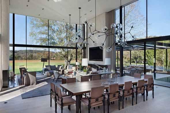 Casa de campo moderna no Tennessee 001