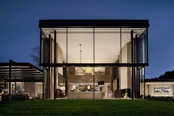 Casa de campo moderna no Tennessee 012