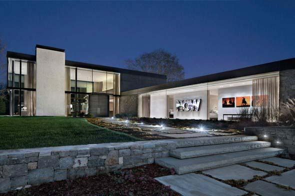 Casa de campo moderna no Tennessee 013