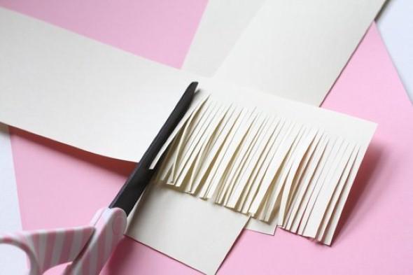 Como fazer flores de papel 003