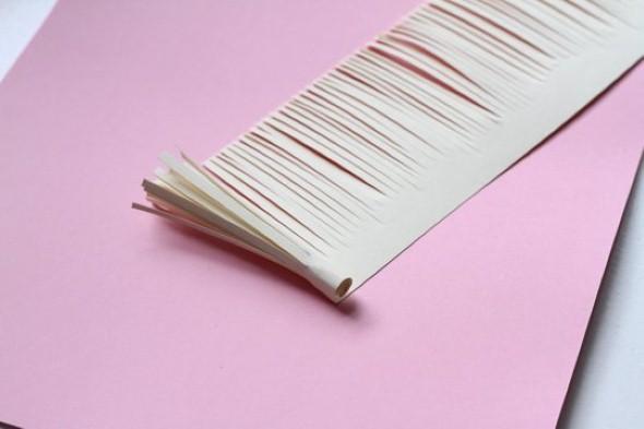 Como fazer flores de papel 004