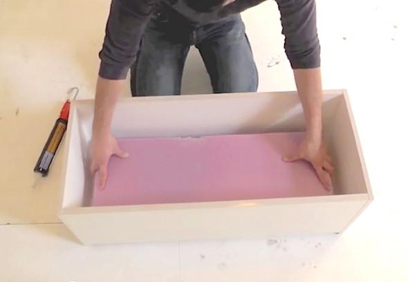 Como fazer um canteiro de concreto para flores 002