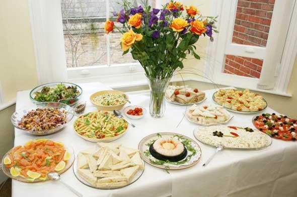 Decorar uma sala de jantar romântica 015