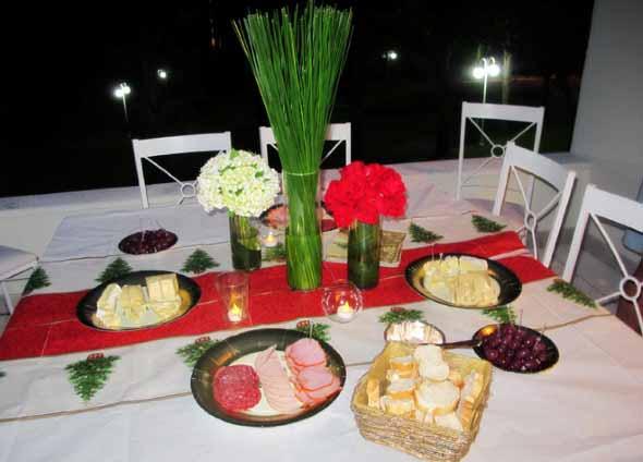 Decorar uma sala de jantar romântica 016
